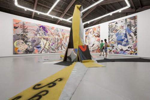installation view from [PROPHET] at Tomio Koyama Gallery, 2009 ©Satoshi Ohno