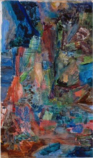 *2 Untitled, 2007 Oil on canvas 100.0 x 60.0 cm ©Varda Caivano