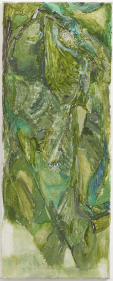 *3 Untitled, 2008 Oil on canvas 100.0 x 40.0 cm ©Varda Caivano