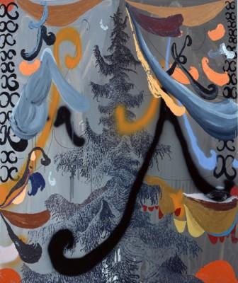 *6 untitled, 2009 oil on canvas, 194.0 x 162.5cm, ©Satoshi Ohno