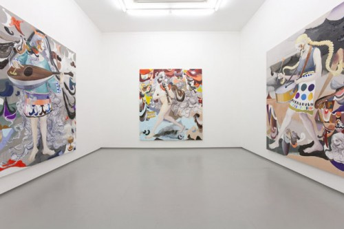 *8 installation view from [PROPHET] at Tomio Koyama Gallery, 2009 ©Satoshi Ohno