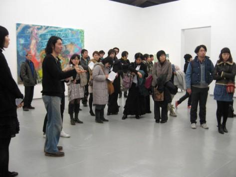 Daisuke Fukunaga, Artist Talk, 2011