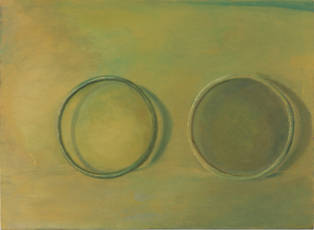 two rings, 2012-2013, oil on canvas, 91.0 x 117.0 cm ©Daisuke Fukunaga