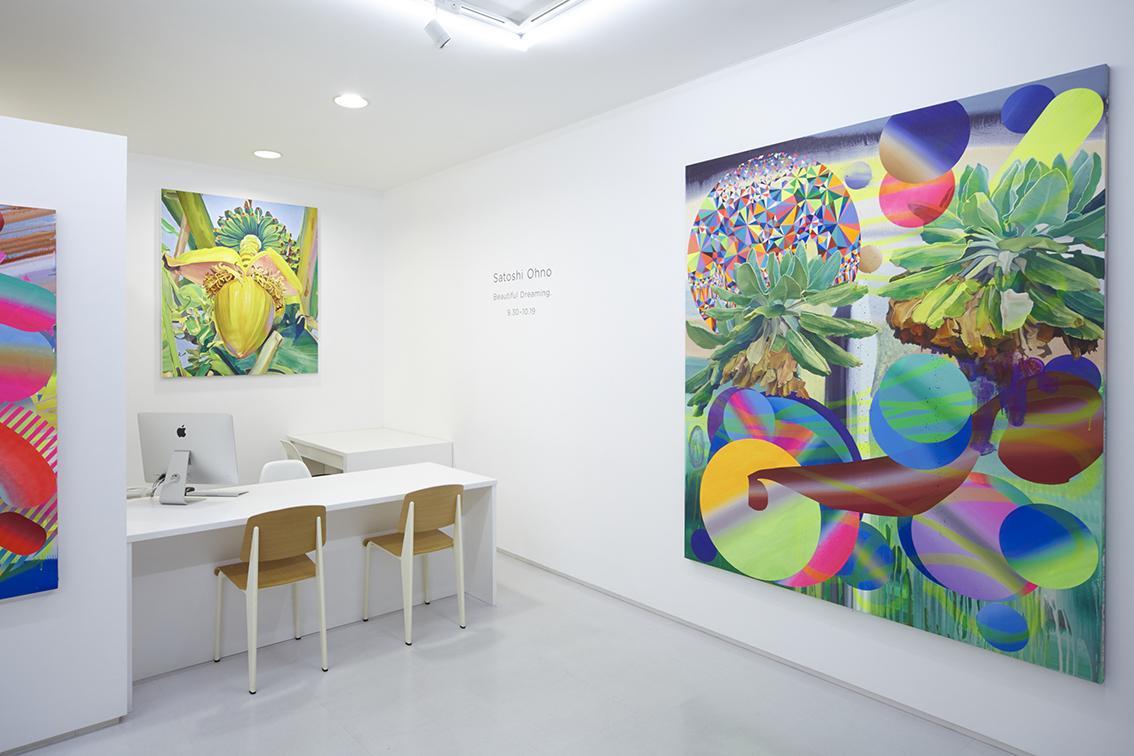 "installation view from Satoshi Ohno ""Beautiful Dreaming."" 8/ ART GALLERY/ Tomio Koyama Gallery/ Tomio Koyama Gallery, Tokyo, Japan, 2015"