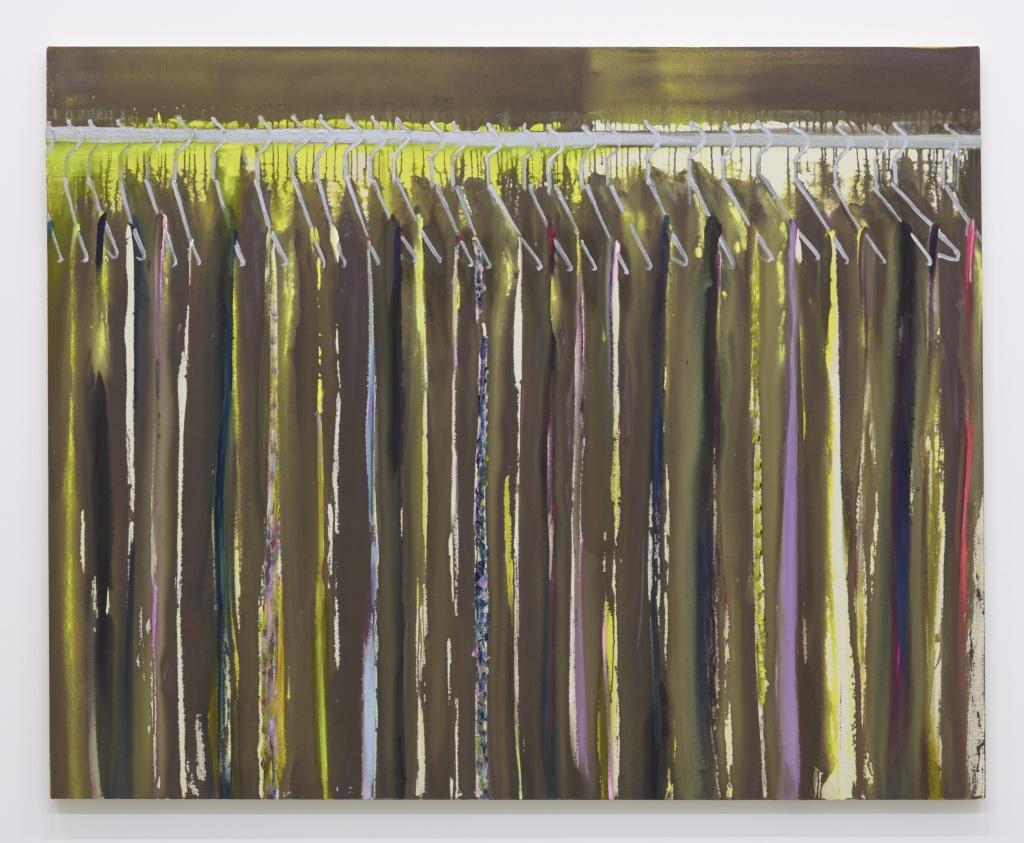 Yellow closet 2015 acrylic and oil on cotton 130.5 x 162 cm © Midori Sato