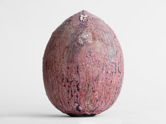 アダム・シルヴァーマン Adam Silverman untitled 2015 陶土 ceramic h.25.0 x φ19.0 cm © Adam Silverman
