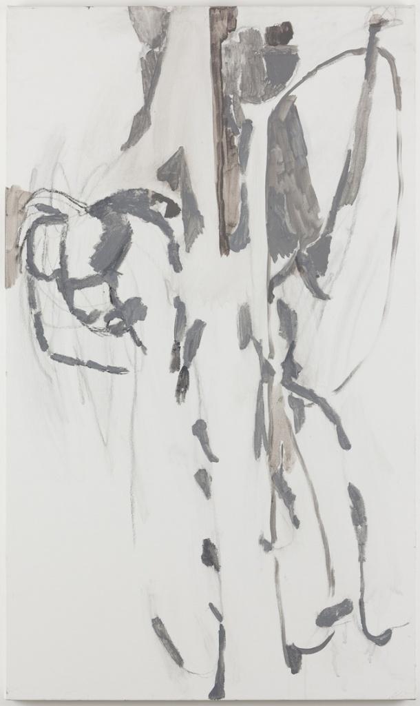 ヴァルダ・カイヴァーノ Varda Caivano Untitled 2014 - 2015 acrylic and charcoal on canvas 112.5 x 66.5 cm © Varda Caivano