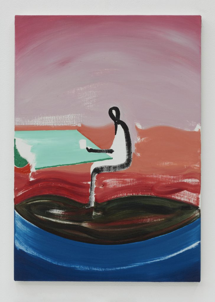 untitiled 2014 oil on canvas 65.5 × 46.0 cm ©Koji Nakazono
