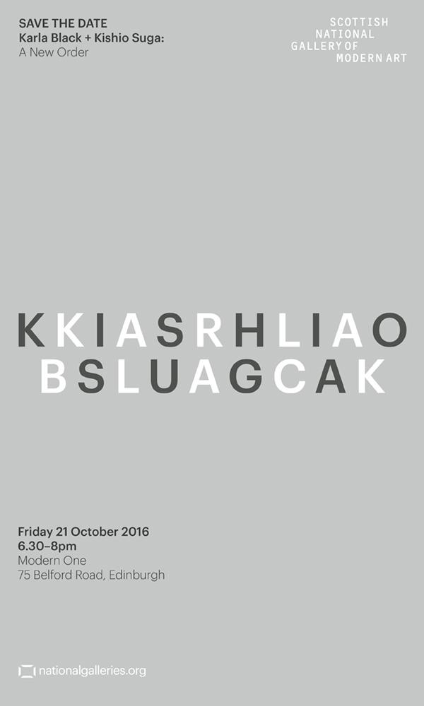 """Karla Black and Kishio Suga: A New Order"" at Scottish National Gallery of Modern Art"