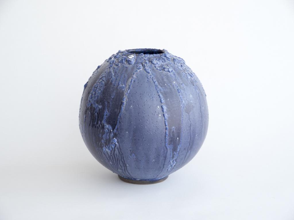 untitled 2016 clay and glaze h.26.0 x Φ25.0 cm ©Adam Silverman