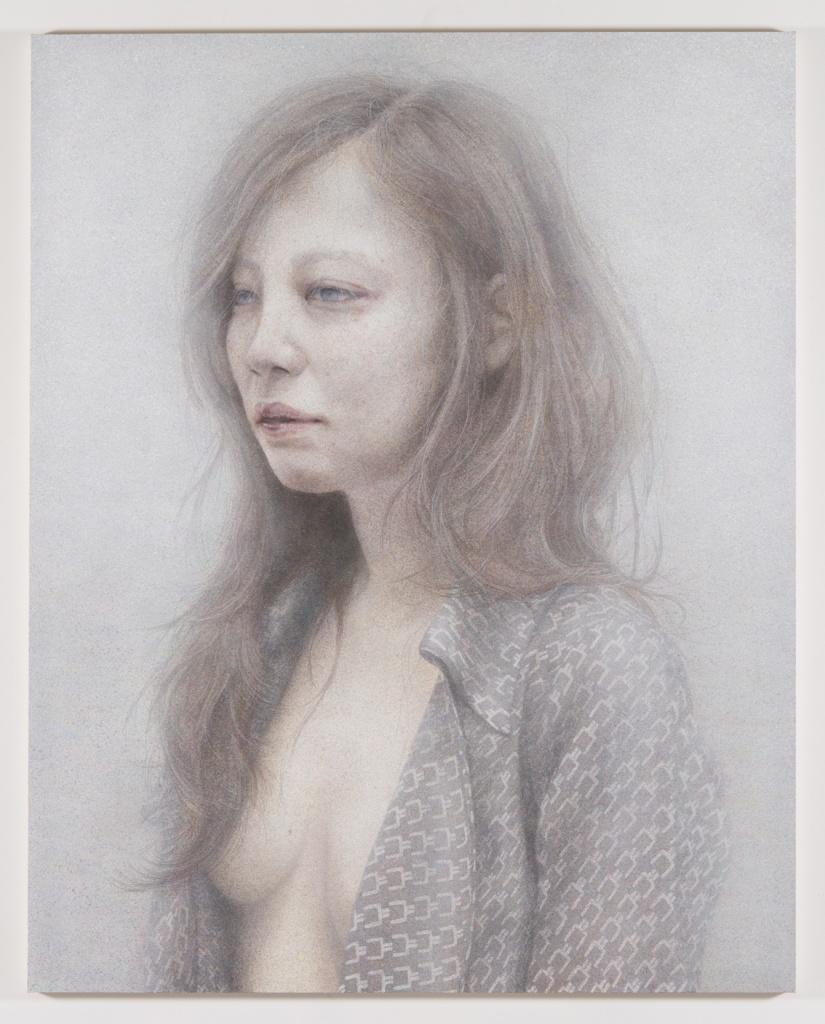Untitled 2015 acrylic on canvas 227.3 × 181.8 cm ©Satoko Nachi